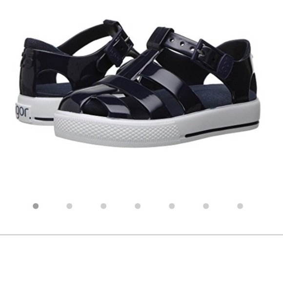 b57650773aaa96 Igor Other - Igor Blue Tenis Solid infant sandals sz 20 (US 4)